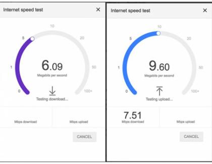 Google aggiunge lo Speed Test alla sua ricerca