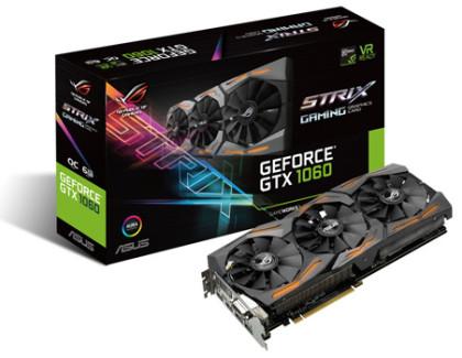 ASUS presenta la nuova scheda grafica GeForce GTX 1060