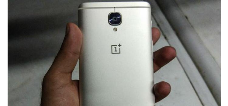 Prime foto dal vivo del OnePlus 3 Soft Gold