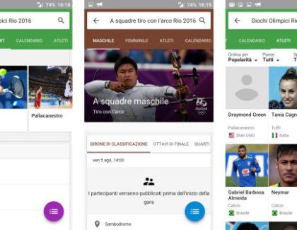 Google: nuove funzioni per le Olimpiadi di Rio 2016