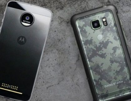 Sfida tra Galaxy S7 Active e Moto Z nel drop test