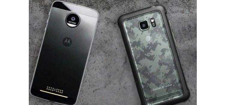 Sfida tra Galaxy S7 Active e Moto Z nel drop test