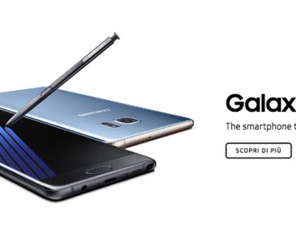Galaxy Note 7: richiesta senza precedenti ma poca disponibilità