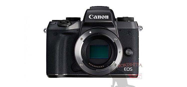 Canon EOS M5, ecco le prime immagini e specifiche