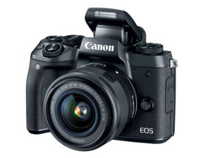 Canon EOS M5 è ufficiale, Dual Pixel AF ed un costo di 1160€