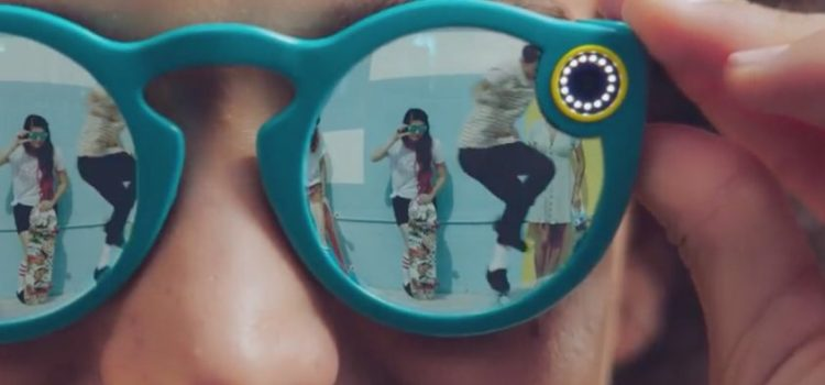 SNAPCHAT SPECTACLES: GLI OCCHIALI SMART CHE REGISTRANO VIDEO