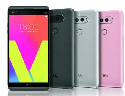 LG V20 è ufficiale, doppia fotocamera e Nougat a bordo