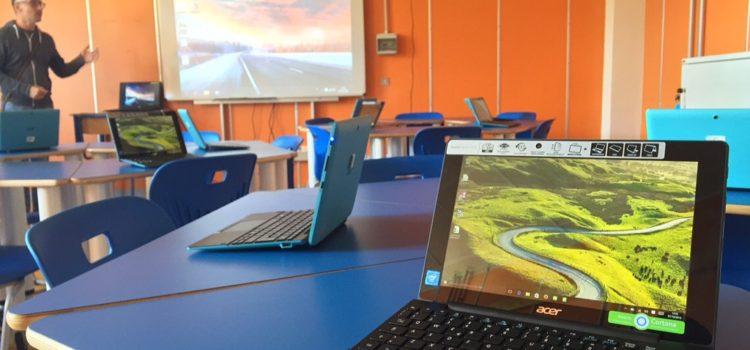 """Una classe 3.0 all'Istituto """"Pier Cironi"""" grazie ad Acer e TT Tecnosistemi"""