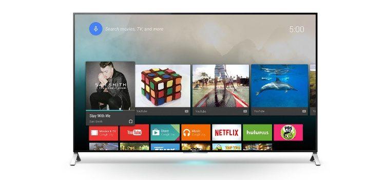 Sony aggiorna le Android TV Ultra HD 2015 – 2016 con la modalità gioco HDR