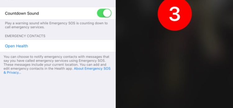 SOS da iPhone e chiamata d'emergenza scoperti in iOS 10.2