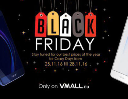 Honor 8 scontato di 50€ in occasione del Black Friday