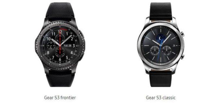 Samsung Gear S3 in pre ordine nel Regno Unito