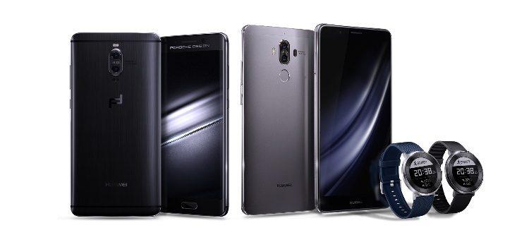 Huawei presenta Mate 9, Mate 9 Porsche Design e Huawei Fit | caratteristiche e foto