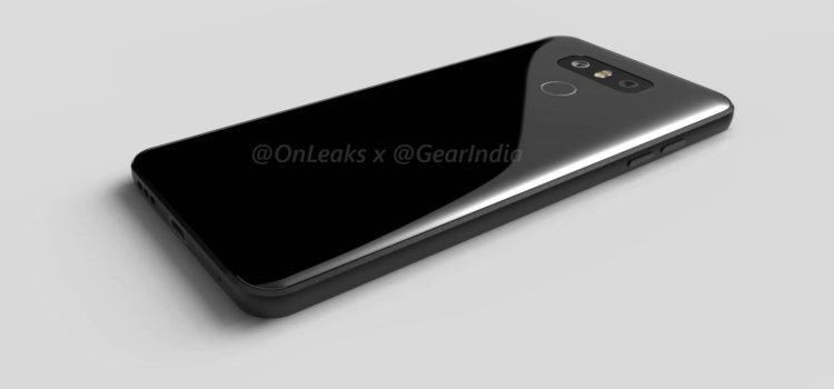 LG G6, arrivano le prime immagini rendering del concept