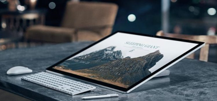 Microsoft Surface Studio, arriva il video unboxing e primo avvio