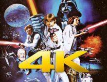 Svelata una versione 4K del primo episodio di Star Wars