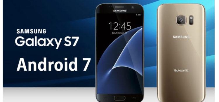 Android 7.0 Nougat per Galaxy S7/S7Edge  Agg: arrivata la beta test