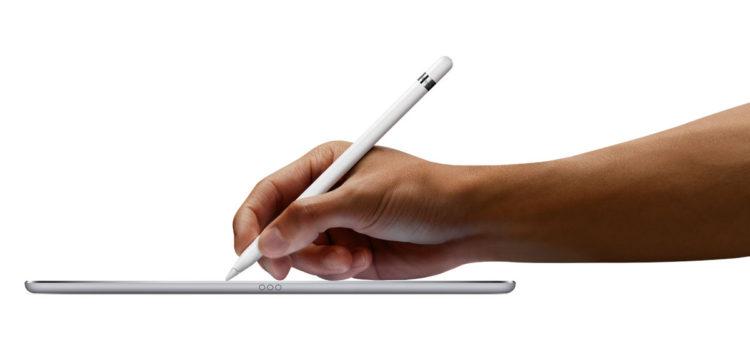 Apple progetta l'Apple Pencil 2 da integrare nell'iPad Pro