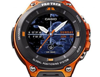 Casio lancerà il nuovo smartwatch rugged WSD-F20 ad aprile
