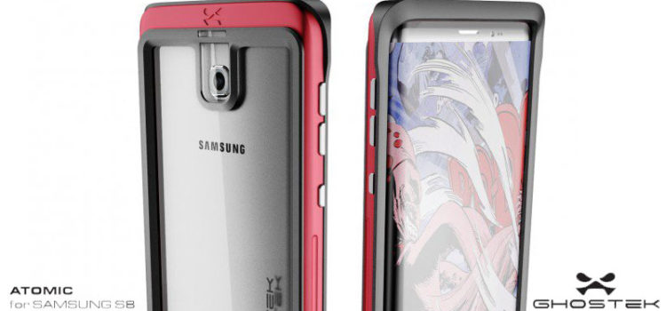 ghostek cuffie  Samsung Galaxy S8 avvistato all'interno di una cover Ghostek ...