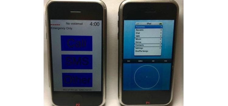 Ecco il video dei due prototipi del primo iPhone di Apple