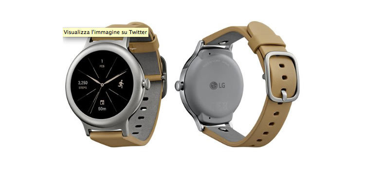 LG Watch Style, mostrato in nuove colorazioni in alcuni render