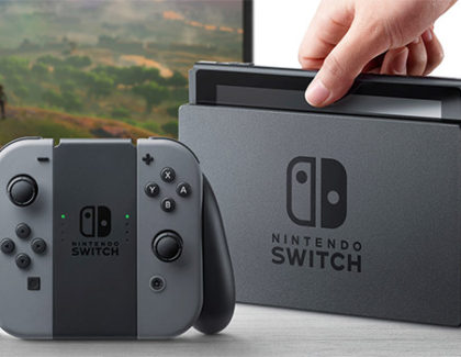 Nintendo Switch è ufficiale e prenotabile su Amazon a 329€