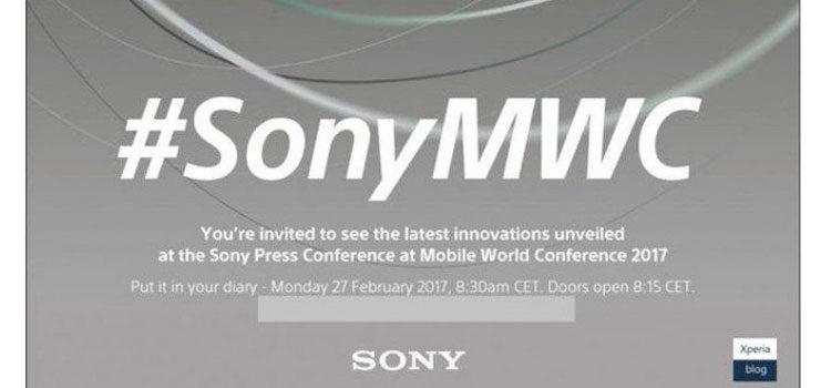 Sony programma evento per il 27 febbraio al MWC2017