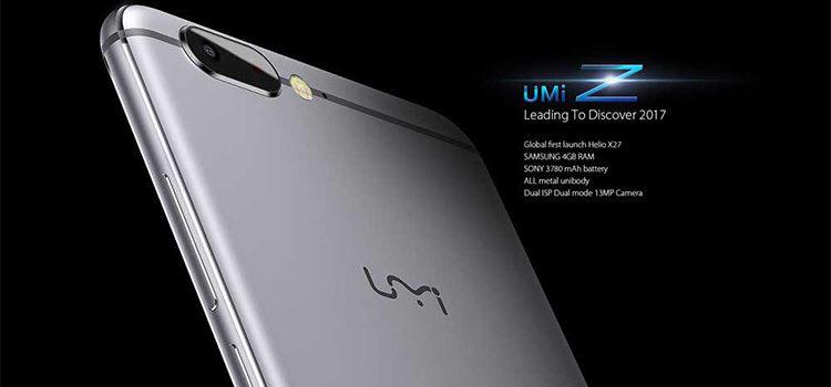 Disponibile al preordine l'UMi Z sul sito ufficiale con 60$ di sconto