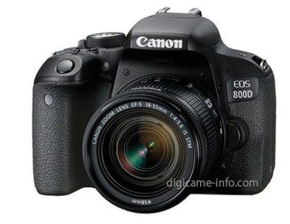 Prime immagini della Canon EOS 77D e 800D