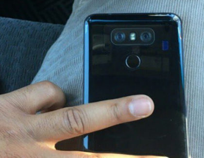 LG G6 mostrato in una nuova foto la parte posteriore