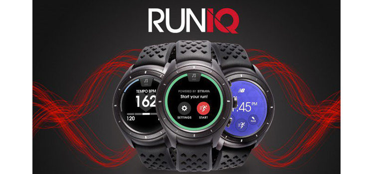 RunIQ primo Android Wear di New Balance