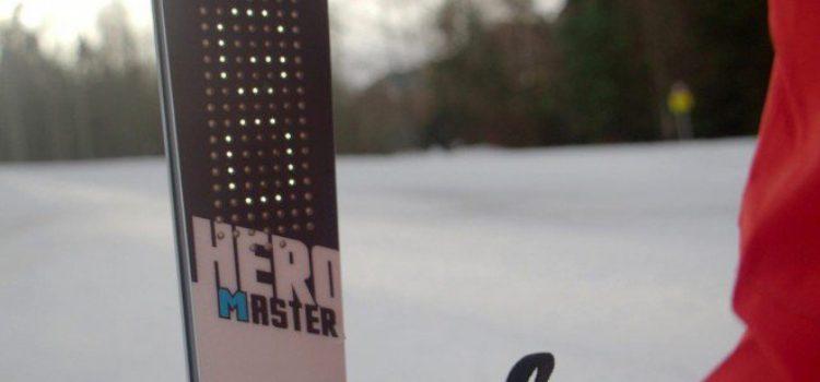 Rossignol e PIQ lanciano degli sci con display integrato