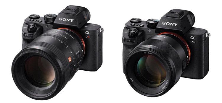 Sony presenta i nuovi obiettivi G Master FE100mm e FE85mm