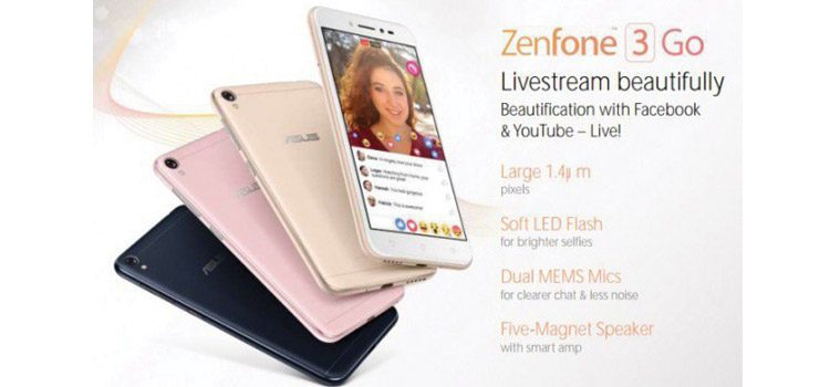 ASUS Zenfone 3 Go, ecco le prime immagini e caratteristiche tecniche