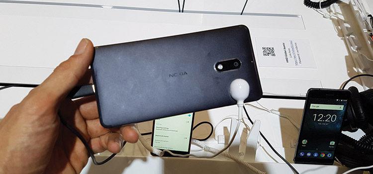 Anteprima Nokia 6 dal MW2017