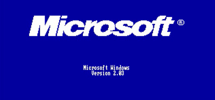 Tutti i sistemi Microsoft in un solo video, da MS DOS a Windows 10