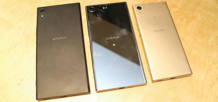 Ecco i nuovi Sony Xperia XZ Premium, XA1 Ultra e XA1