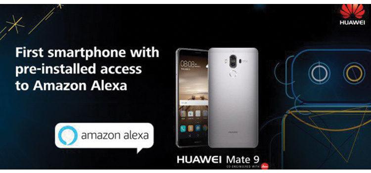 I Huawei Mate 9 in america sono dotati di Alexa