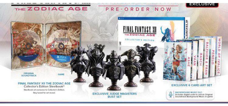 Final Fantasy XII: The Zodiac Age, i contenuti dell'edizione speciale