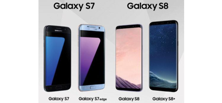 Galaxy S8 e Galaxy S7, ecco tutte le specifiche a confronto