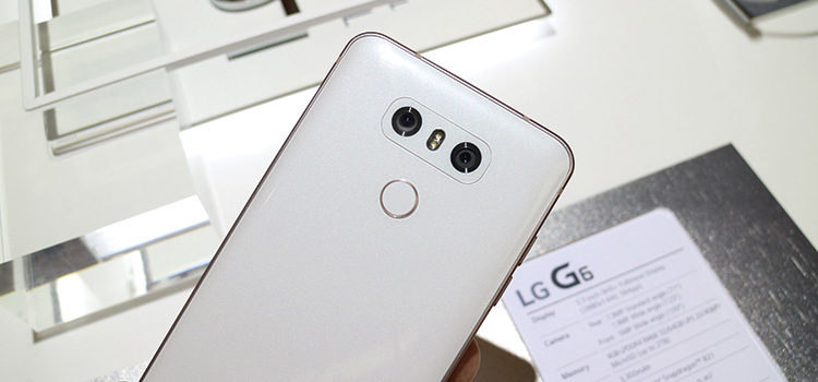 LG G6: disponibile al preordine a 749€ su Amazon Italia