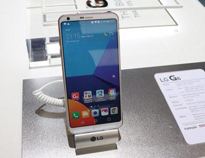 LG G6, si inizia la distribuzione mondiale