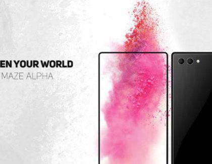 Maze Alpha: display AMOLED da 6″, doppia cam e cornici sottilissime
