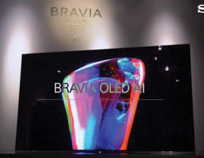 Sony A1 OLED con Android TV lanciata in Europa da 4.000 euro