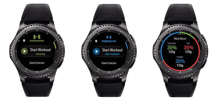 Le app Under Armour arrivano sui Samsung Gear