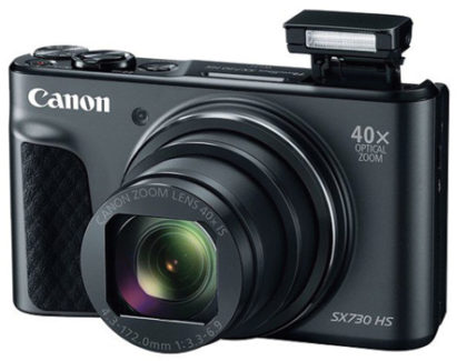 Canon PowerShot SX730 HS nuova compatta per selfie e video blog