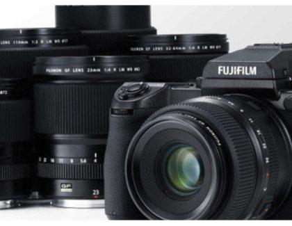 Fujifilm presenta due nuove ottiche e rilascia il firmware GFX 50S 1.10