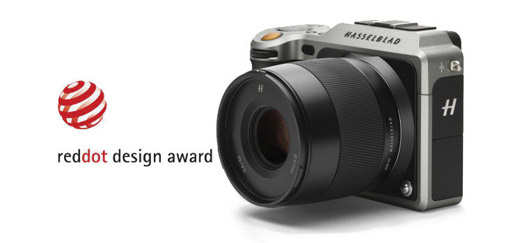 Hasselblad X1D riceve il premio Red Dot Award