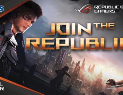 ASUS Republic Of Gamers (ROG) partner ufficiale di Romics